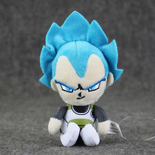 Dragonball Super Saiyan Vegeta Blue Plushy Keychain