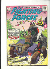 OUR FIGHTING FORCES #80 ('63) @ VG+ (GUNNER & SARGE) ULTRA-BRIGHT / SHINY