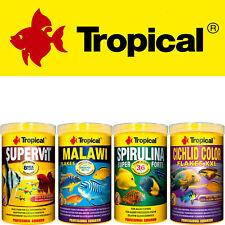 (€12,00/L) Tropical Supervit,Malawi,Spirulina Forte 36%,Cichlid Color je 1000ml