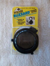 SIZE#10: NEW IN PACKAGE: BUTLER CREEK BLIZZARD FLIP-OPEN/ SEE-THRU SCOPE COVERS.