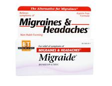 NEW BOERICK & TAFEL MIGRAIDE MAXIMUM STRENGHT FORMULA HEADACHE CARE ASPIRIN FREE