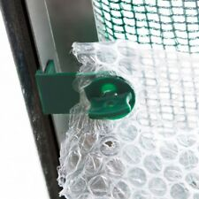 20 Super Alliplugs with Corners Fixes Bubble Wrap Insulation to Greenhouse Frame