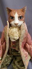 Katherine's Collection Victorian Male Cat doll by Wayne Kleski NEW