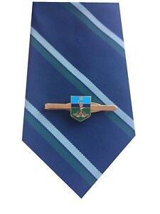 Royal Corps of Signals Tie & Tie Clip Shield Set e027