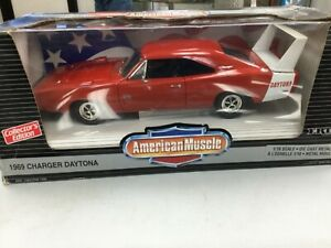 AMERICAN MUSCLE COLLECTORS EDITION 1969 CHARGER DAYTONA 1/18  /LTD EDITION