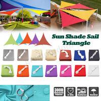 4-Shape Sun Shade Sail 300D Waterproof Canopy Outdoor Patio Cover UV Block Park