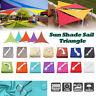 Shade Sail 300D Waterproof Canopy Outdoor Patio Cover UV Block 4 Shape Sun Park