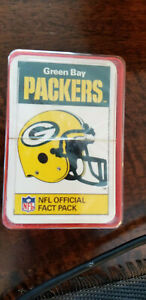 1987 ACE FACT PACK ENGLAND GREEN BAY PACKERS SEALED SET OF 33 WRIGHT ELLIS
