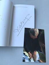 DANIEL LIBESKIND 'Das Jüdische Museum' In-person signed RARITÄT + Beweis-Foto!!