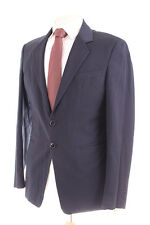 EMPORIO ARMANI JUDE LINE NAVY BLUE MEN'S SUIT JACKET 38L DRY-CLEANED