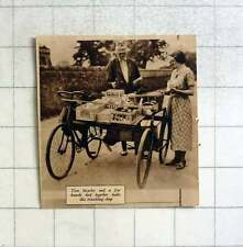 1935 Travelling Shop Made From Two Bikes Tied Together