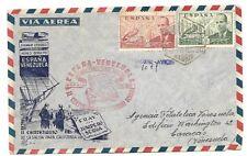 Spain: 1949; 2 First Flight different to Venezuela, EBES050