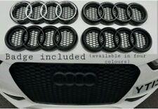 Audi emblem badge rings holder honeycomb grills (with badge)A1 A3 A4 A5 A6 A7 A8