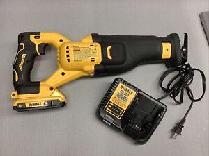 DeWALT DCS368 20 VOLT MAX XRP Reciprocating Saw Brushlees Full Set Battery