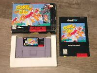 Frantic Flea Complete CIB Super Nintendo Snes Authentic