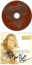 Chalee Tennison Parading In The Rain CD autographed signed Advance Album