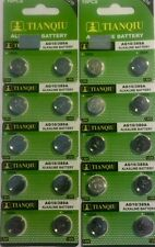 20 AG10 389 LR54 SR54 SR1130W 189 1130 Alkaline Button Cell Watch Battery F /SH