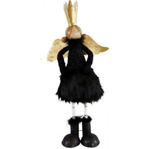 Angel Black Beaty 23 5/8in Deco Quality