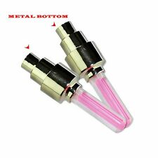 Metal bottom LED Car Bike Bicycle Tire Wheel Valve sensor Led Flash Light  RED