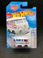 Hot wheels 2019 VW Volkswagen Kool Kombi White Magnus Walker Rare HTF New