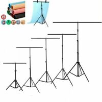 T-Shape Backdrop Stand PVC Background Photo Studio Photography Support System