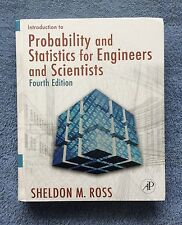 Probability and Statistics for Engineers and Scientists, Sheldon M.Ross, E4