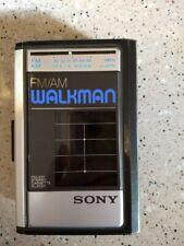 Vintage Sony Walman Wm-F41 Fm/Am Stereo Cassette Player Work Great