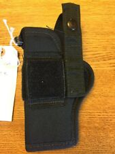 Black Nylon Belt  HOLSTER Fits Medium Frame Automatic, Ambidexterous