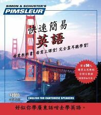 English for Chinese (Cantonese) Speakers, Pimsleur