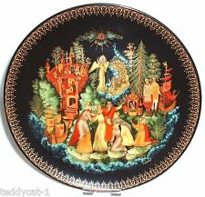 Russische Legenden ~  6. Bradex Sammelteller ~ Zar Saltan /Сказка о царь Салтанe