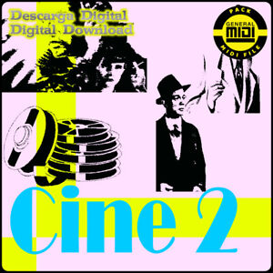CINE 2 - Pack 8 Midi Files. Descarga Digital. Escucha Demos. General Midi