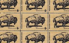 1970 - Wildlife - Buffalo - #1392 Full Mint -Mnh- Sheet of 50 Postage Stamps
