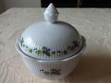 Kaiser Porzellan Viola Zuckerdose nie benutzt Veilchen