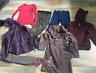 lot, fille, 8 ans, peignoirs, pantalon sweat, leggings, tee-shirt, kway