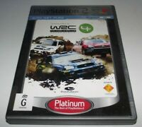 WRC 4 FIA World Rally Championship PS2 PAL (Platinum) *Complete*
