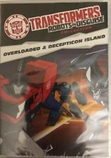 Transformers Robots In Disguise-Overloaded & Decepticon la Isla DVD Raro Barco