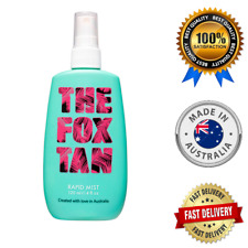 THE FOX TAN RAPID MIST NATURAL AUSTRALIAN TANNING ACCELERATOR HELP`S TAN FASTER