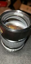 Nikon 135 mm 1:28 lens not tested