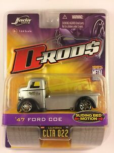 Jada D-Rods 47 1947 Ford COE Car Hauler Sergio's Garage DieCast 1/64 PaintDefect