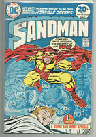 SANDMAN #1 - JACK KIRBY - DC 1974