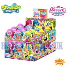 SpongeBob and Shimmer and Shine Super Surprise Eggs x 24 (Party Bag Filler)