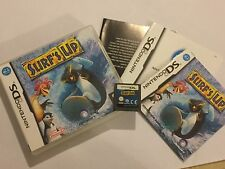 NINTENDO DS DSL DSi XL GAME SURF'S UP +BOX & INSTRUCTIONS COMPLETE
