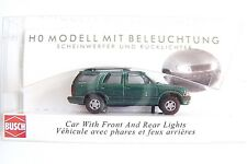 HO Busch Green Chevy Blazer with Working Head and Tail Lights 5658-G