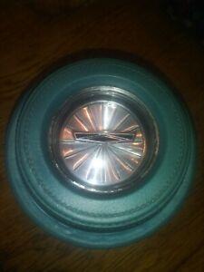 1967 Ford Custom Galaxie 500  XL  AQUA Steering Wheel Horn Button Emblem Pad