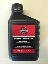 Original Briggs & Stratton SAE30 0,6 l 4-Takt Motoröl API SJ/CD  Rasenmäheröl