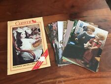 Current Brand Vintage 12 Dollhouse Greeting Cards Unused (CG)