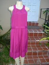 MARC by MARC JACOBS DARK PINK CASUAL SLEEVELESS SUMMER DRESS Sz 12