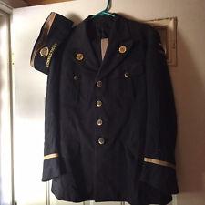 Vintage American Legion Dress Uniform Jacket, Pants, hat Connecticut.