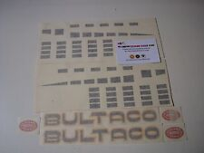 BULTACO ASTRO KIT DECALS FULL BIKE STICKERS KIT BULTACO ASTRO NEW
