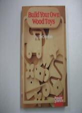 Build Your Own Wooden Toys (Popular science),R.J. DeCristoforo